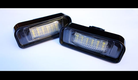 Mercedes Benz  W220 LED License Plate Lights 99-05