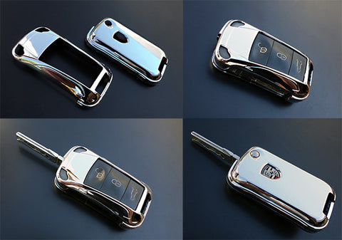 Porsche Remote Key Cover CHROME