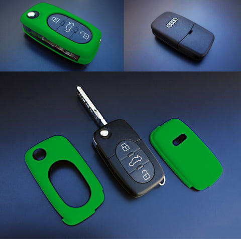 Early Audi Remote Key Cover Green