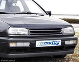 VW Jetta MK3 Hood Extension Spoiler