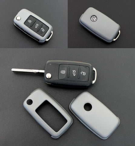 VW Remote Key Cover Metallic Grey 11/09-
