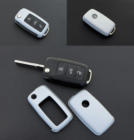 VW Remote Key Cover Silver11/09-