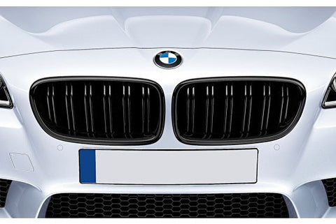 BMW F10 F11 M5 Gloss Black Grills 11-15