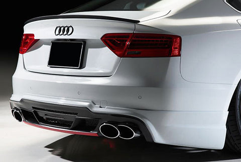 Audi A5 / S5 / RS5 B8 Trunk Spoiler Lip