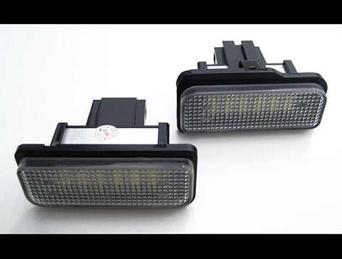 Mercedes Benz S203 W211 C219 R171 LED License Plate Lights