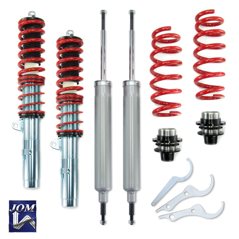 JOM Adjustable Coilover Suspension Kit Fits BMW 1 Series E81 E87 3D 5D 04-12