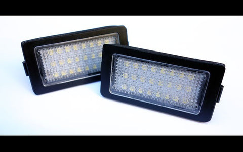 BMW E38 LED License Plate Lights