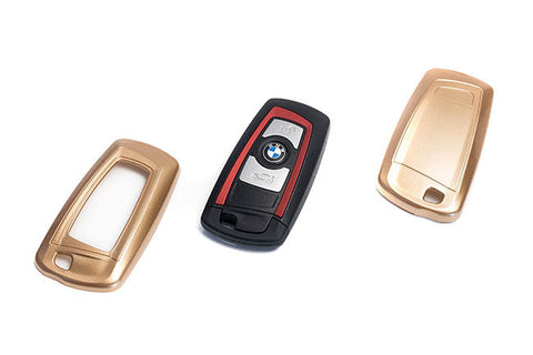 BMW Remote Key Cover Gold Paint