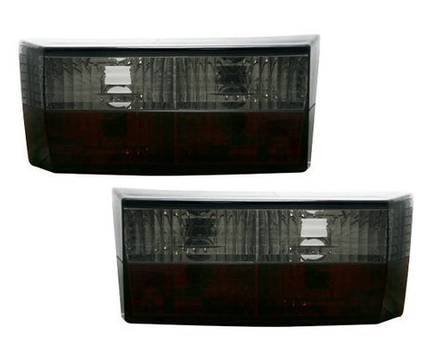 Black Smoked Tail Lights For VW Rabbit MK1 Cabriolet / Golf