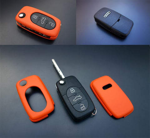 Early Audi Remote Key Cover Orange