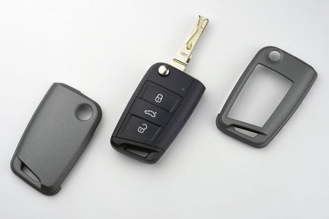 VW Remote Key Cover Carbon Gray 2015-