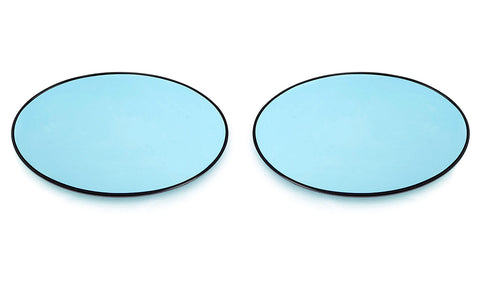 Mini MK1 R50/R52/R53 uro Mirror Glasses Blue Heated Aspheric / Convex