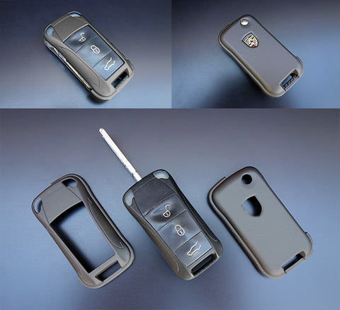 Porsche Remote Key Cover Grey