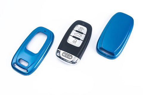 Audi Remote Key Cover Metallic Blue