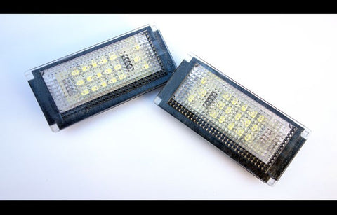 Mini R50 R52 R53 LED License Plate Lights