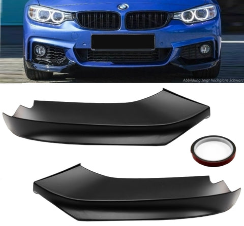 Bumper Corners Spoiler Chins Lip For BMW F32 F33 F36 M-Package Sport 14-20