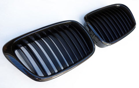 BMW E39 Carbon Black Grills 96-03