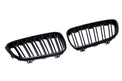 BMW F22 F23 F87 M2 Gloss Black Grills 14-Up