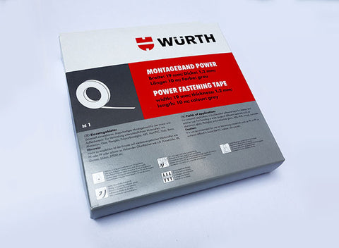 WURTH Power Mounting Tape 10m x19mm
