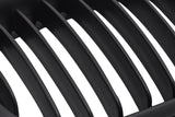 Matte Black LCI Grills 97-99 For BMW E36