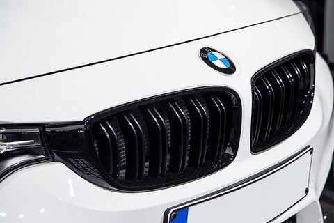 BMW F30 F31 M3 Style Matte Black Grills 12-Up