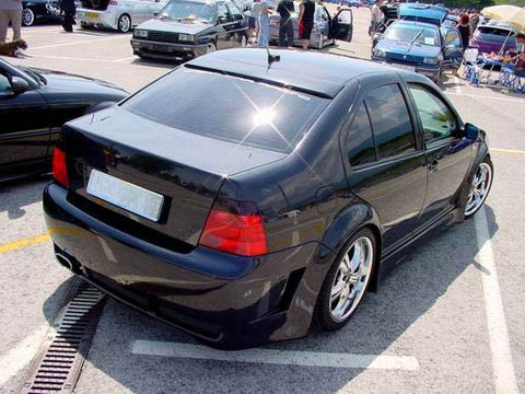 VW Jetta MK4 Rear Window Roof Extension Spoiler