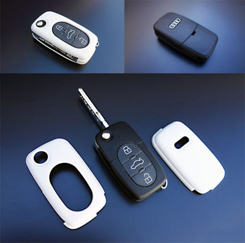 Early Audi Remote Key Cover White