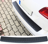 Audi A4 B8 Wagon / S4 Stainless Steel Rear Bumper Protector Carbon Look