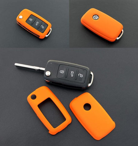 VW Remote Key Cover Orange 11/09-
