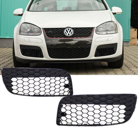 VW Golf Jetta MK5 GTI GLI Closed Bumper Hex Grill Air Intakes Honeycomb Vents