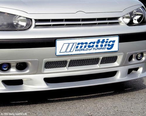 VW Golf MK4 Hood Extension Spoiler