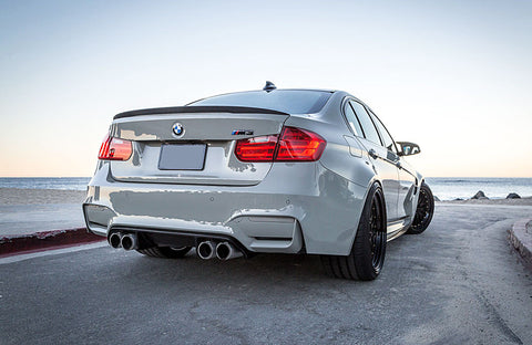 BMW F30 / F80 Sedan ABS Plastic Trunk Spoiler Lip