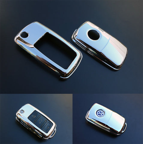 VW Remote Key Cover CHROME -10/09
