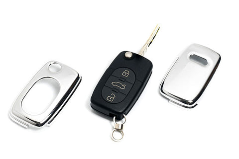 Early Audi Remote Key Cover Chrome