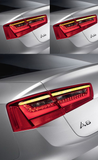 AUDI A6 C7 Sedan Upgrade Semi Dynamic Turn Signal LED Tail Lights Module