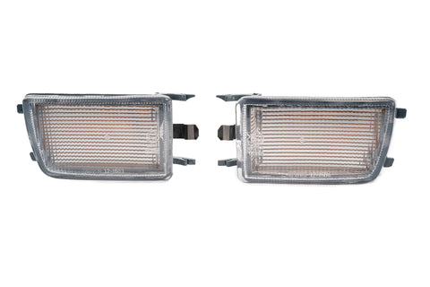VW MK3 Clear Front Bumper Turn Signals