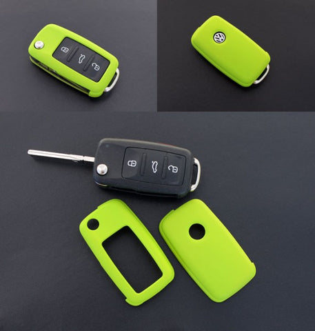 VW Remote Key Cover Green 11/09-