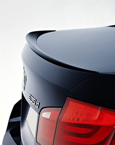 BMW F10 Sedan ABS Plastic Trunk Spoiler Lip (Slim)