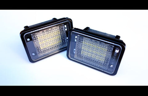 Mercedes Benz  X204 LED License Plate Lights 09-15