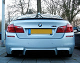 BMW F10 Sedan ABS Plastic Trunk Spoiler Lip (Performance)