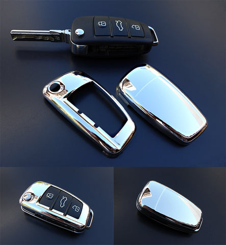 Audi Remote Key Cover CHROME
