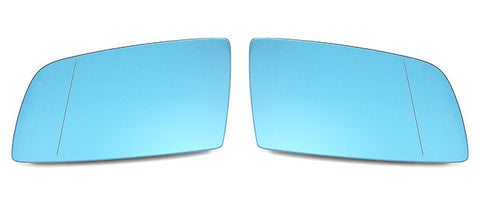 BMW Euro Mirror Glasses Blue Heated Aspheric / Convex