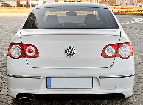 VW Passat B6 Sedan Trunk Spoiler Lip