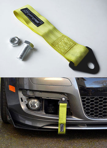 Universal Tow Strap Yellow
