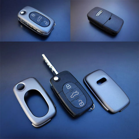 Early Audi Remote Key Cover Grey
