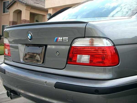 BMW E39 Sedan Trunk Spoiler Lip