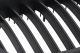 Matte Black Grills 96-03 For BMW E39 Sedan & Wagon