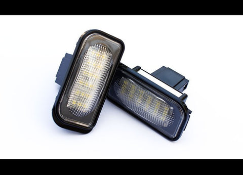 Mercedes Benz W203 Sedan LED License Plate Lights 01-07