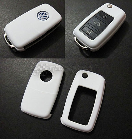 VW Remote Key Cover White -10/09