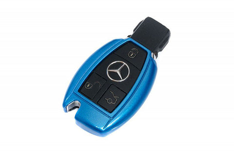 Mercedes Benz Remote Key Cover Metallic Blue